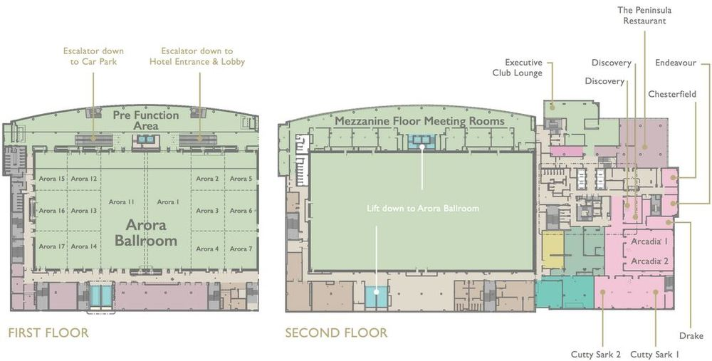 Arora Ballroom and additional meeting rooms [IHG]