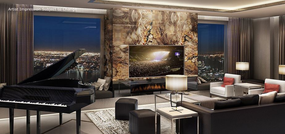 Penthouse Suite (artists impression) [IHG]