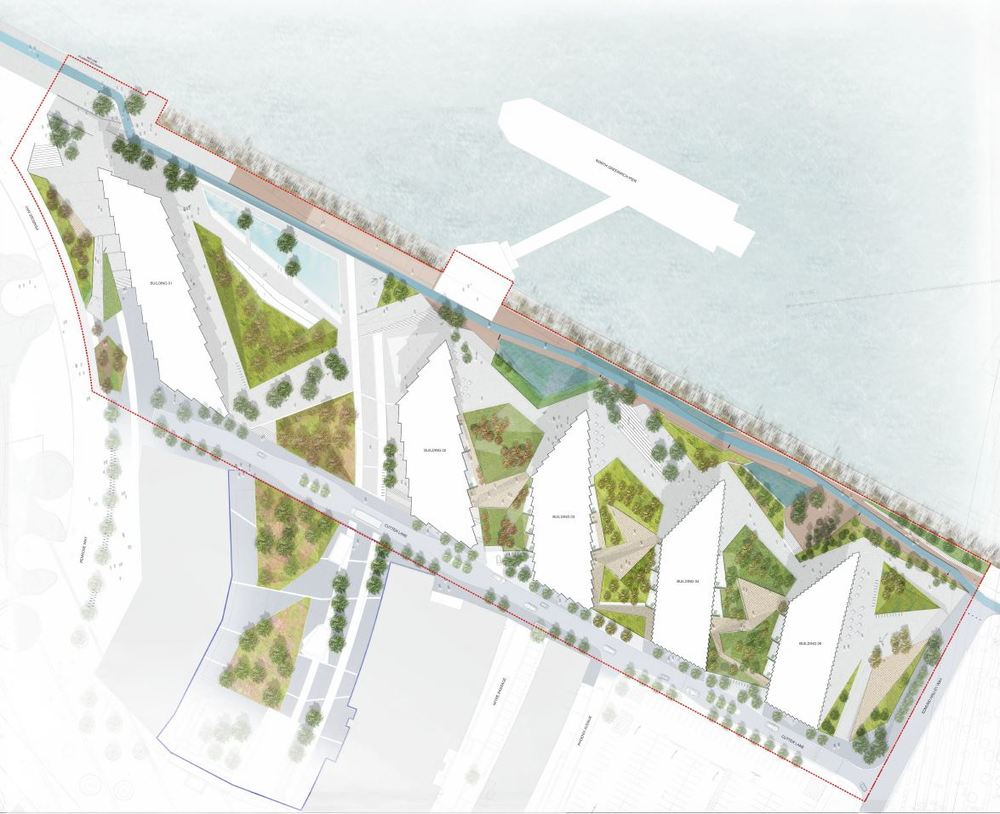 Upper Riverside landscaping plans [Gross Max Landscape Architects]
