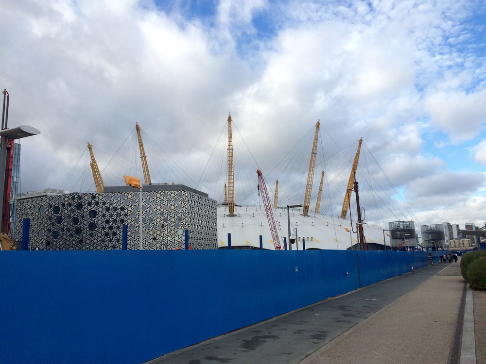 Ground works began on the Upper Riverside site in March 2015 [ @greenpenlondon ]