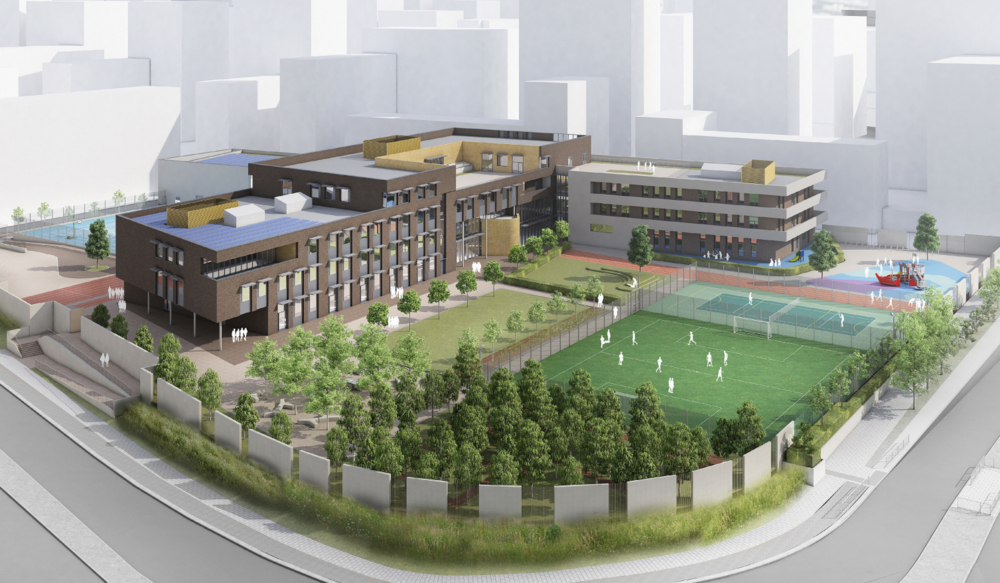 The planned Greenwich Peninsula campus of St Mary Magdalene Church of England School is to complete by August 2017, and by 2020 a secondary phase will provide all-through education by 2020.