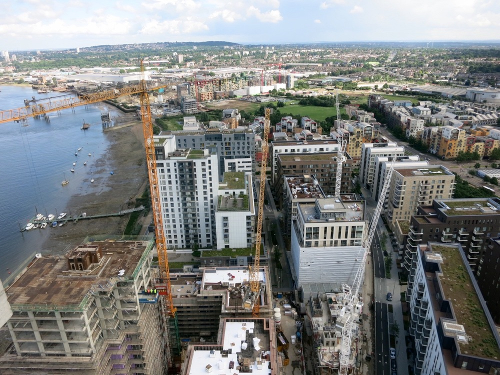 Lower Riverside developments of Greenwich Peninsula