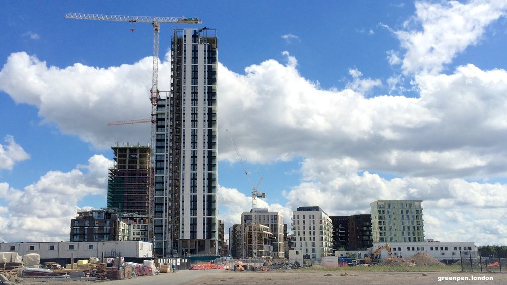 Lower Riverside developments - August 2016 [greenpenlondon]