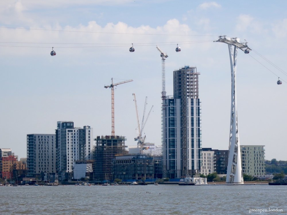 Developments on the Lower Riverside of Greenwich Peninsula - May 2016 [greenpenlondon]