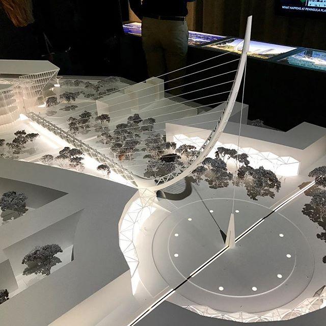 #calatrava #santiagocalatrava #bridge #peninsulaplace #meridianquays #greenwichpeninsula #northgreenwich #architecture #masterplan #urbandesign #urbanplanning #meridian #greenwich