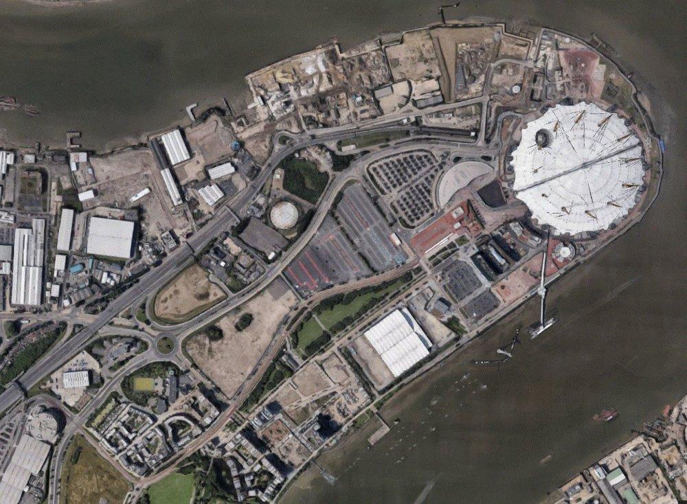 Greenwich Peninsula 2013