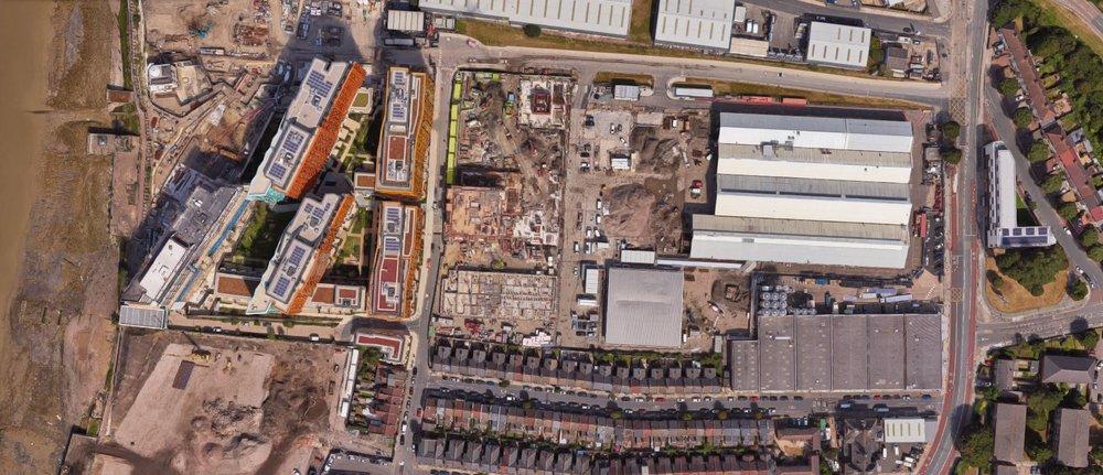 Telegraph Works/Precision & Enderby Wharf 2017