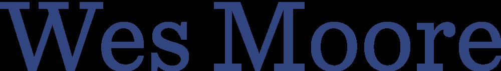 Wes Moore Logo