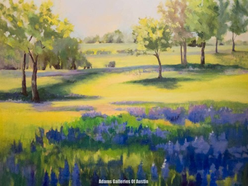 Valerie Walden - Bluebonnets and Wildflower Painter