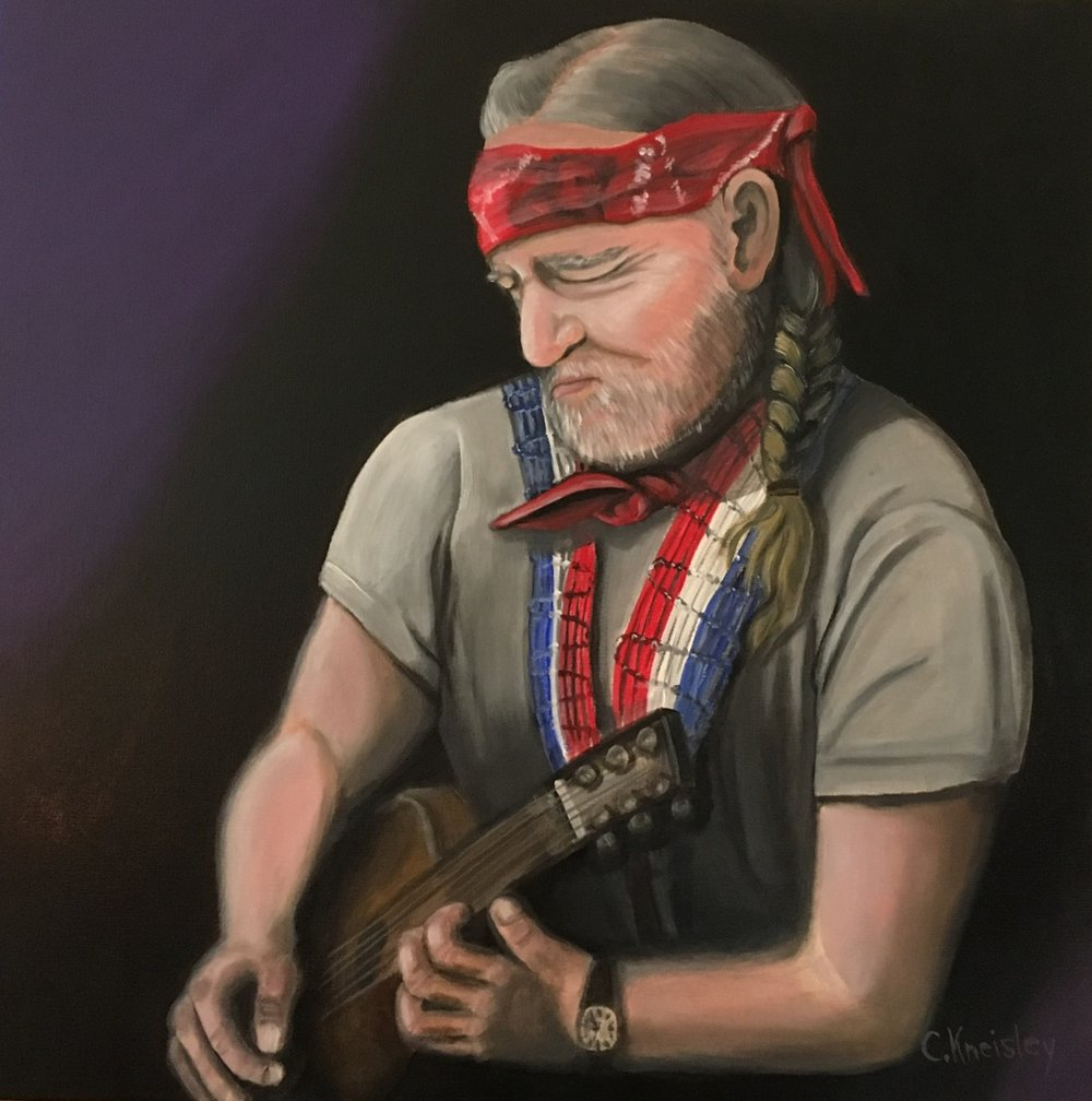 Carol Kneisley - Willie Nelson Artist