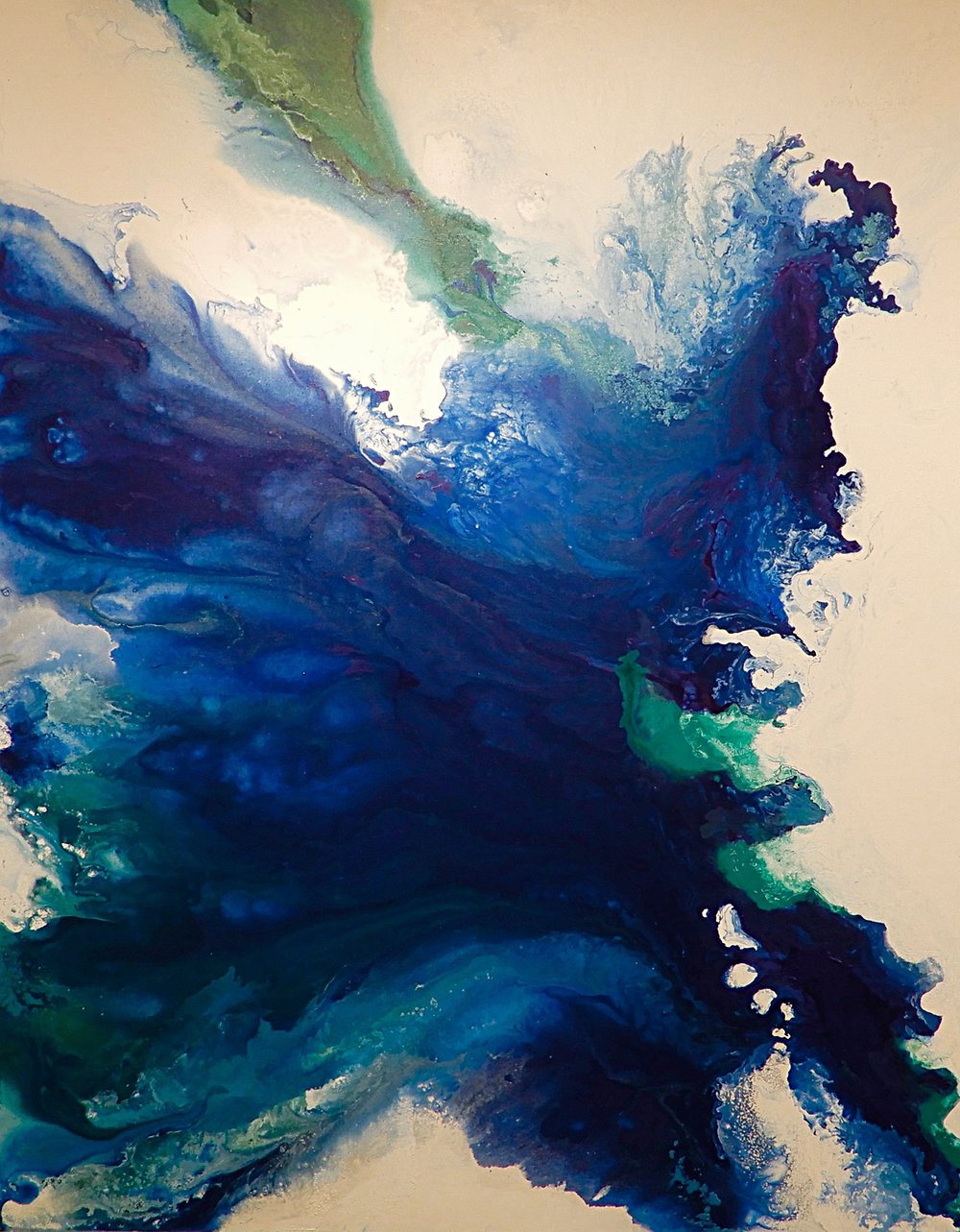 Suzan Zbranek - Abstract Acrylic and Texture Paintings