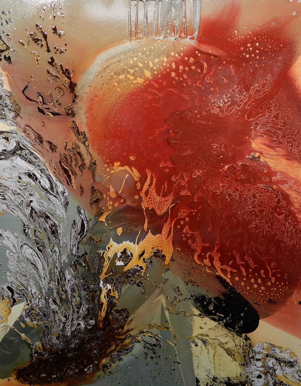 Eva Lawrence - Acrylic Abstract Artist
