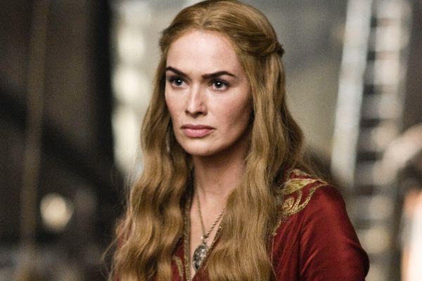 Let's hope her portrayal of Mrs. Bennet is of a moderately more sane person. I do just love to hate Cersei Lannister though.