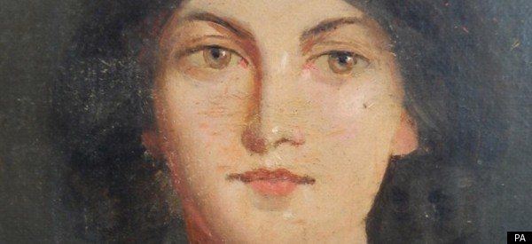 Portrait of Emily Bronte.