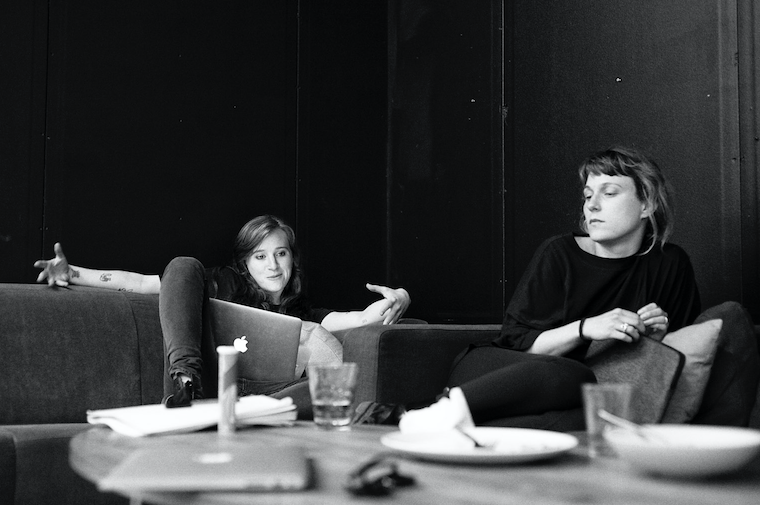 left to right: co-owners Sasha Hecht, Amelia Trask (photo by Martin Norberg)