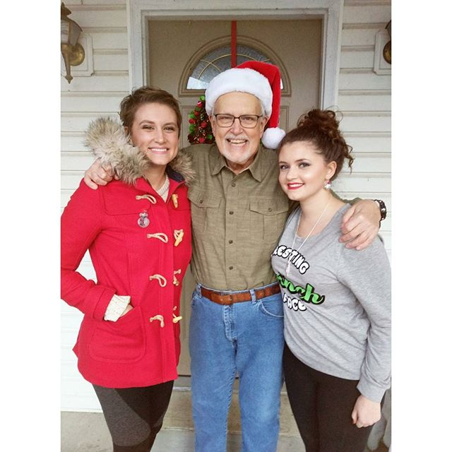 And a Happy Festivus for the rest of us! ❤🎄❤ #dad #sister #christmas #sisterdidmymakeup