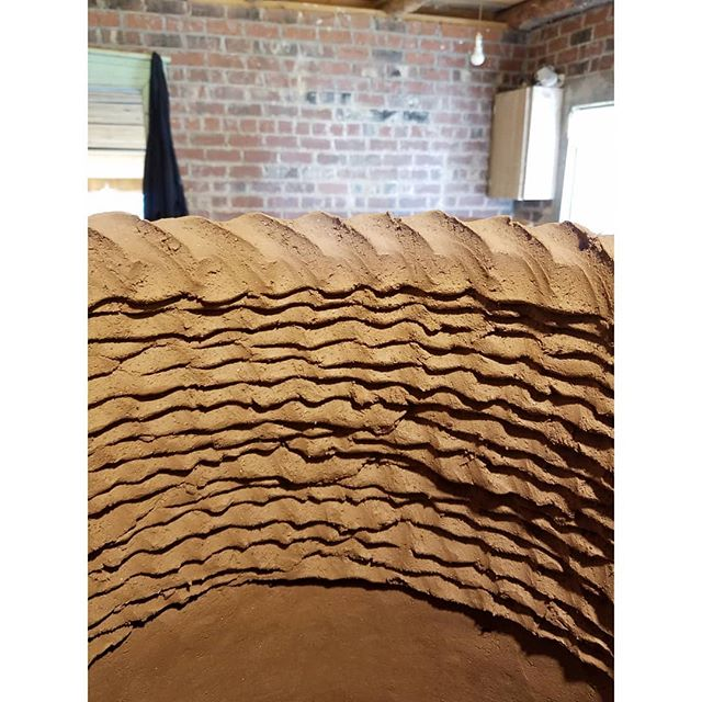 〰️ 〰️ 〰️ #coiling #clay #studio #?