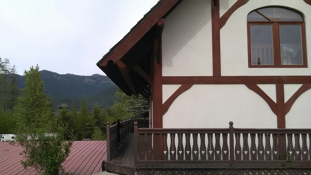 Chalet cabin at the Great Northern Raft Company and Resort.