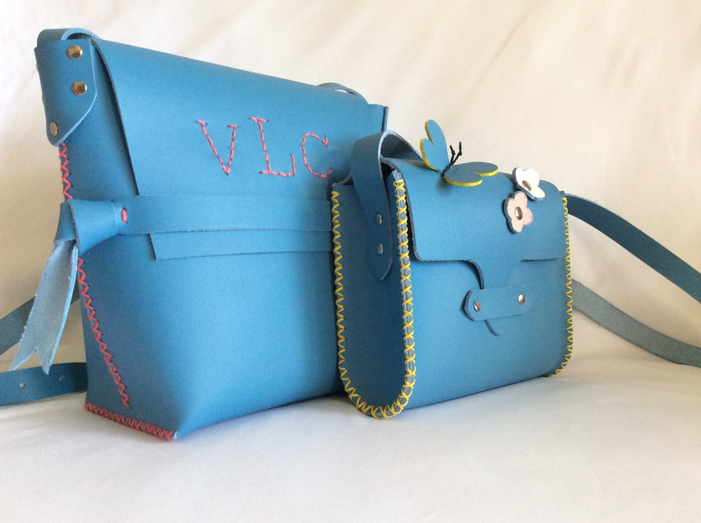 Children's purses by Beargrass Leather
