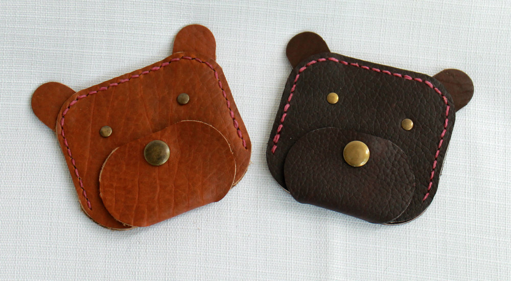 We thought that our nights spent at the West Glacier Farmer's Market would be filled with sales of these amazing bear coin purses.  Sometimes we misjudge demand.