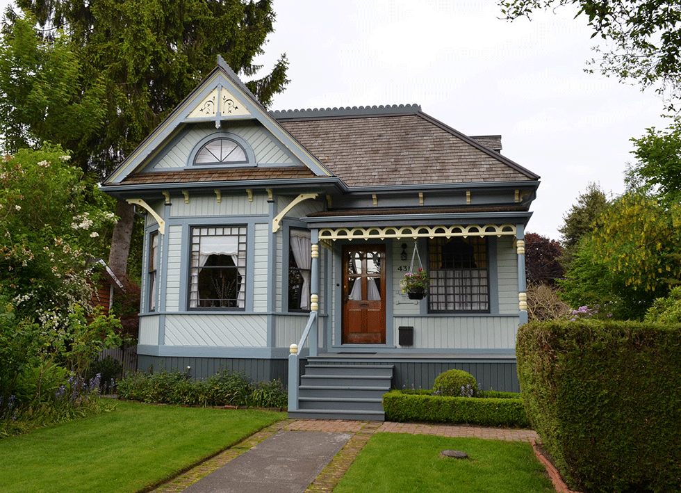 Heritage house colours