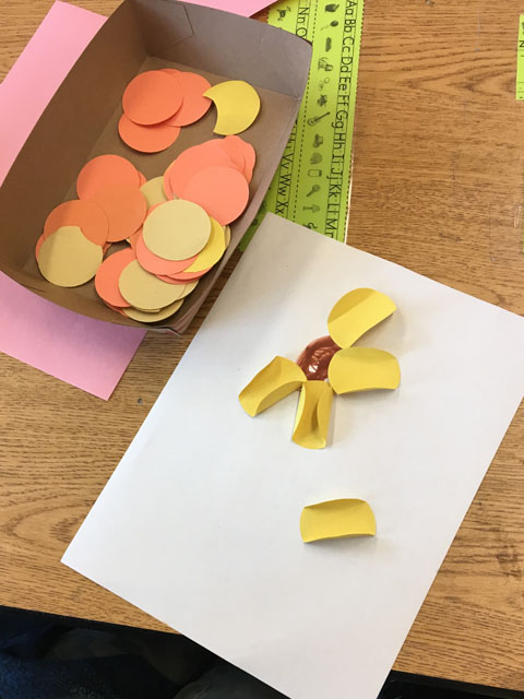 flower art project for kids