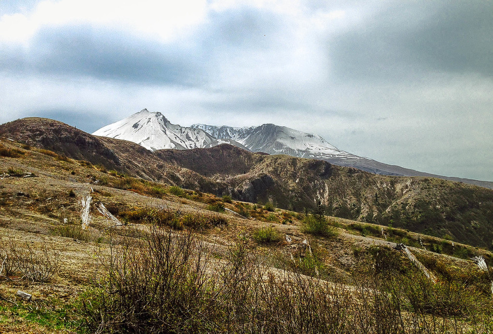 MT. ST. HELENS: EASTSIDE TO WINDY RIDGE