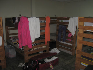 (Our bedroom at the Mission House)