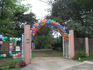 The gate into the Camarena's property