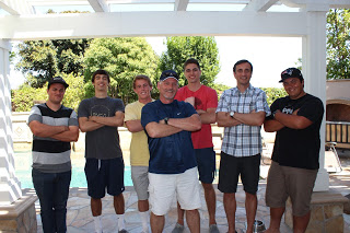 Our fearless construction team, led by Ron Bittner (professional builder)