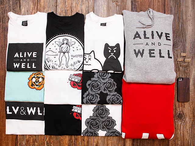 Alive and Well - Roses and Razor Blades Collection
