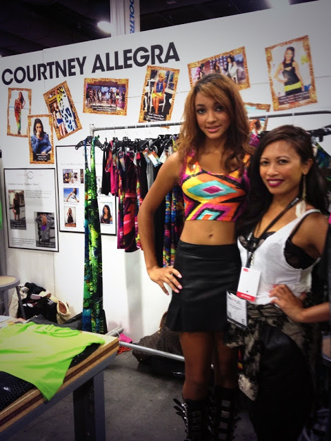 courtney allegra_pool tradeshow