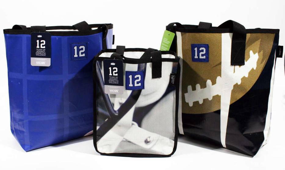 The Seahawks and alchemy goods have partnered on these limited edition tote bags benefiting the Washington State coalition against domestic violence.  More info here