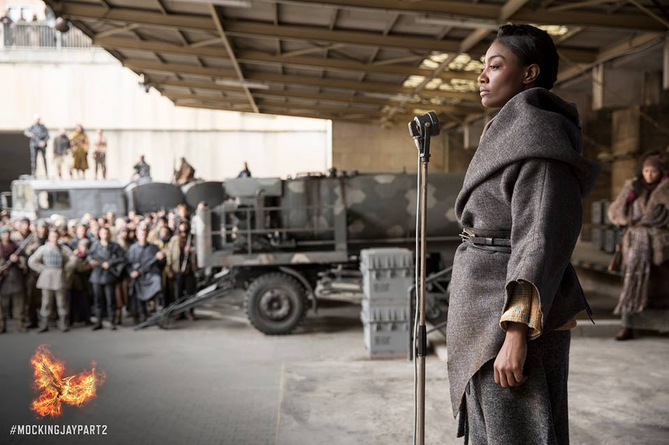 Outerwear goals. Via Hunger Games Facebook