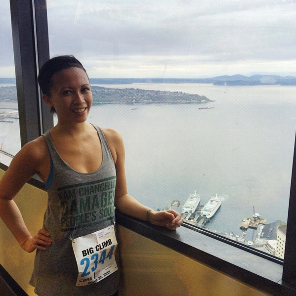 Big Climb Seattle 2016 Jess