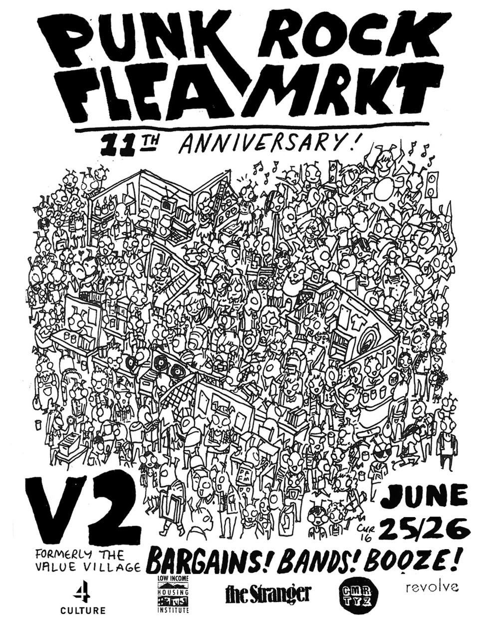 Seattle Punk Rock Flea Market