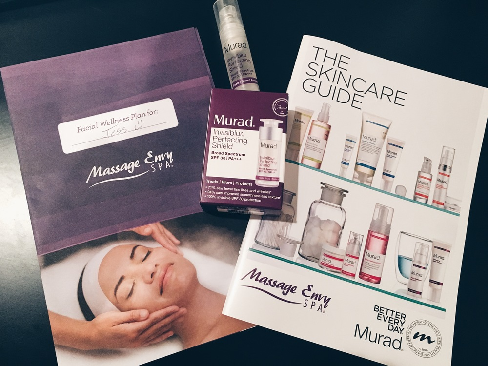 Massage Envy Murad Summer Glow Facial