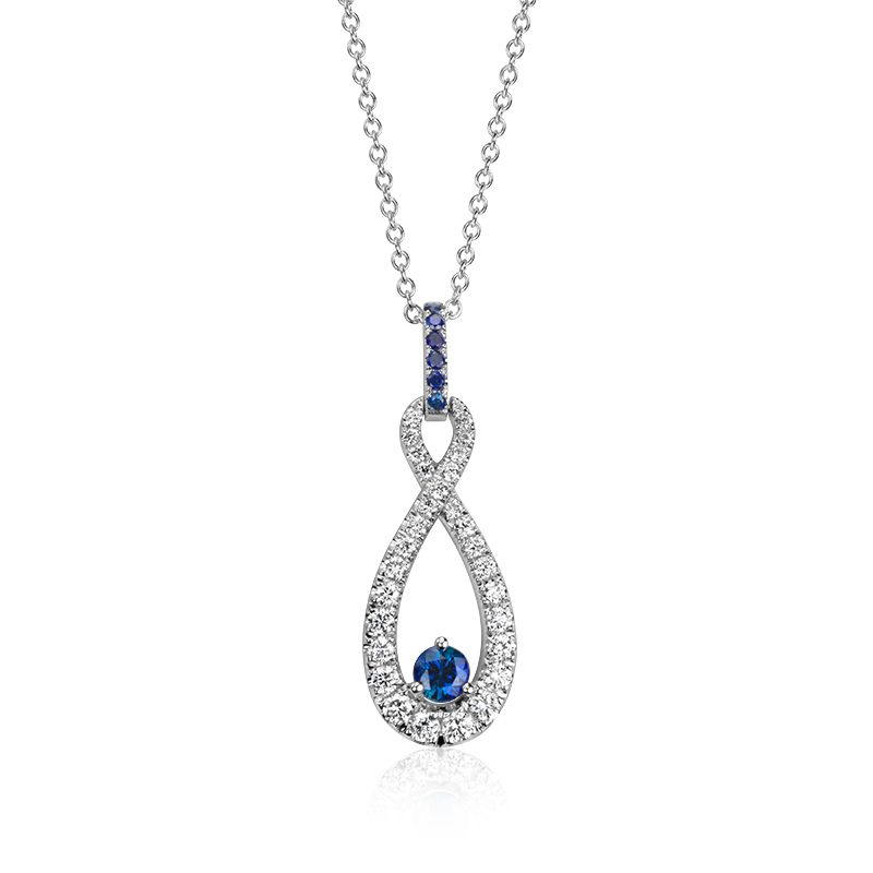 53570_Colin Cowie Sapphire and Diamond Infinity Pendant 14KW.jpg
