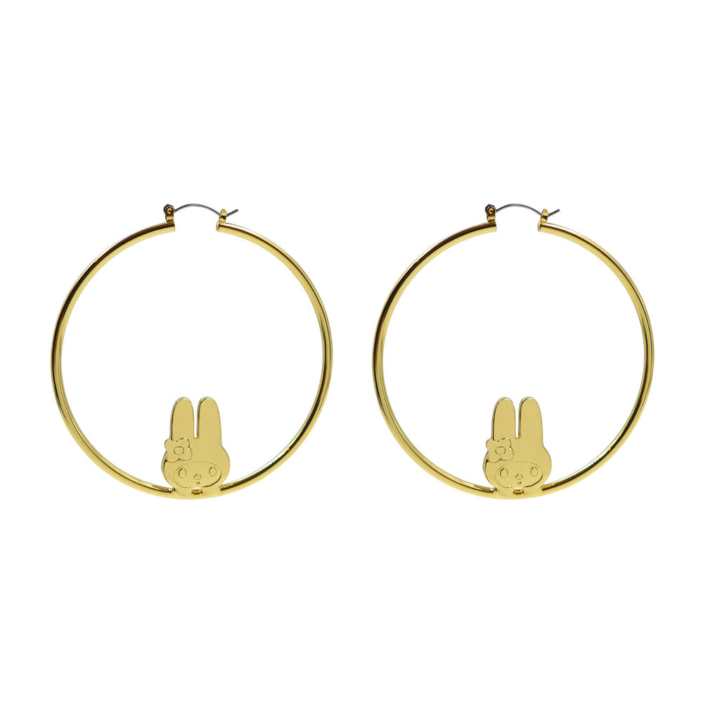 Melody Ehsani x My Melody   Hoop Earrings 01.jpg