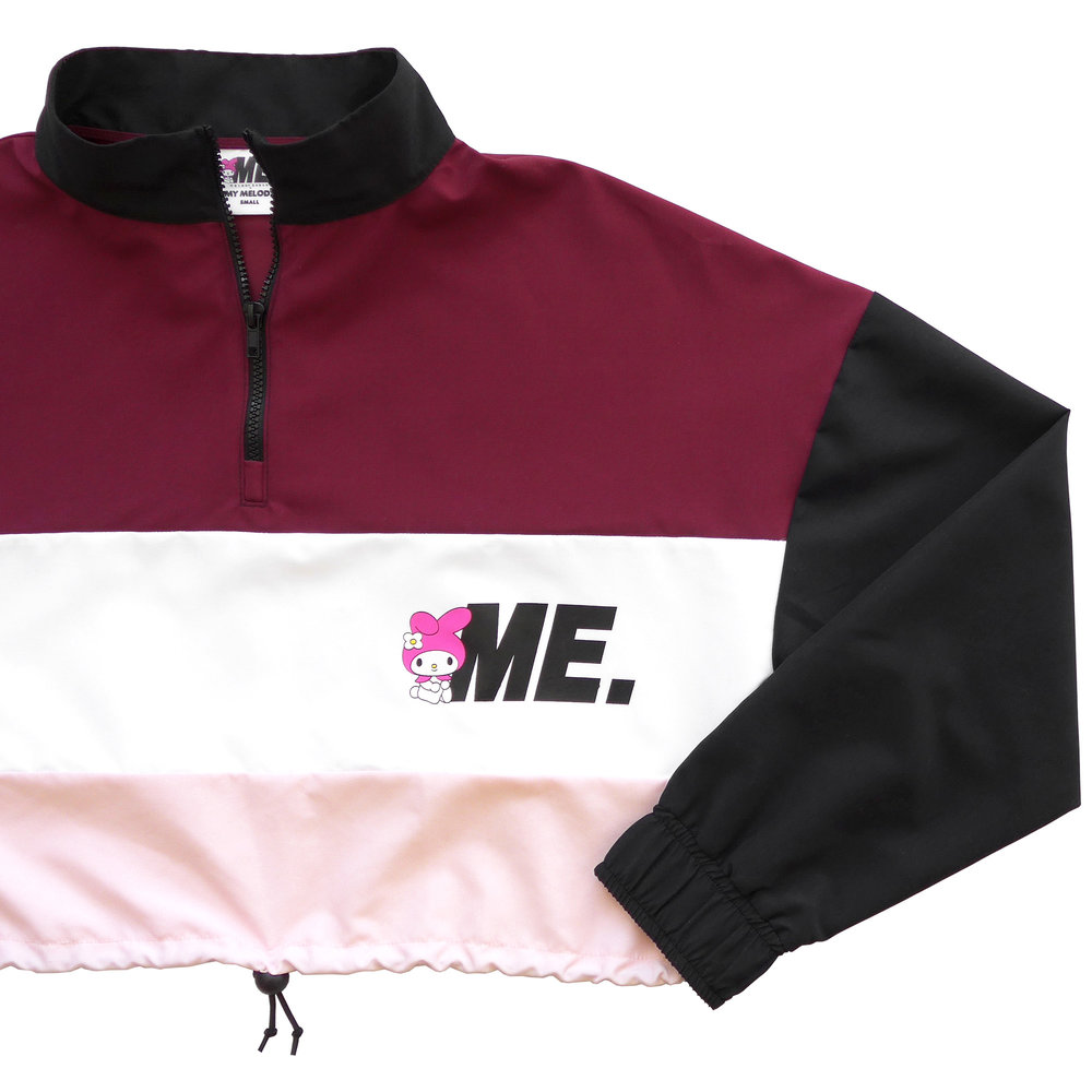 Melody Ehsani x My Melody   Windbreaker - multi color burgundy zoomed front.jpg