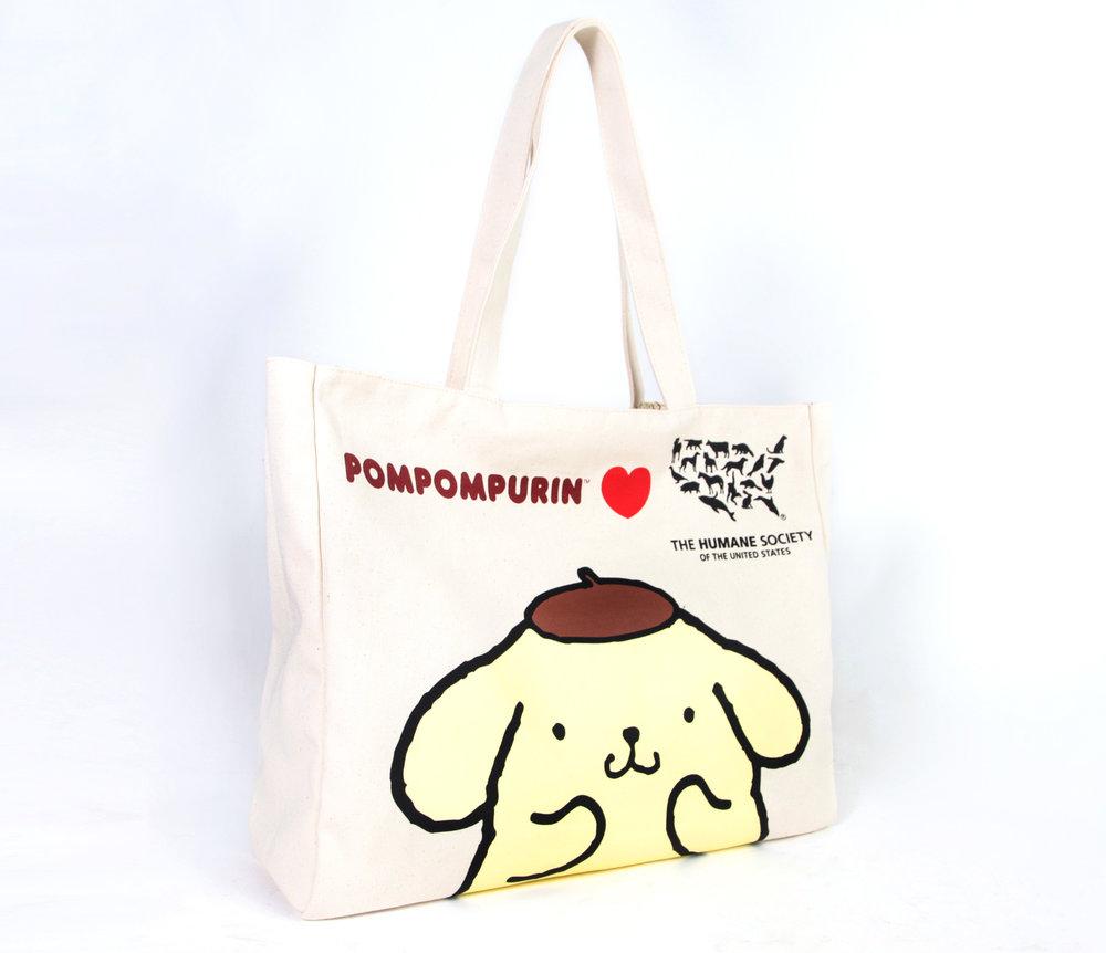 Pompompurin Tote- Sanrio x Humane Society Collaboration.jpg