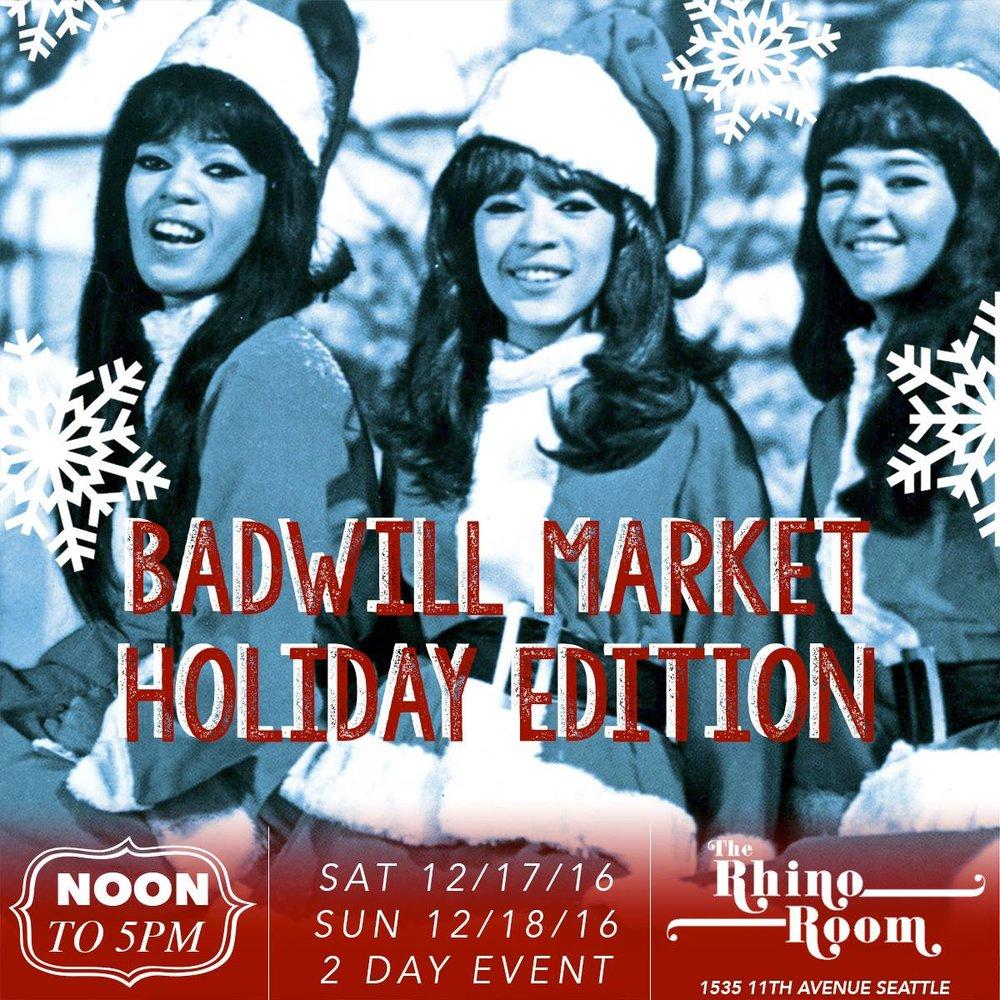 BadWill Market Holiday 2016