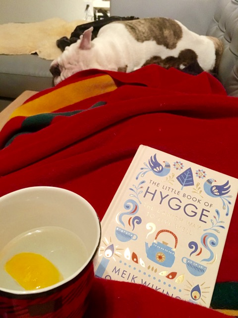Apparently this the most popular book on hygge!