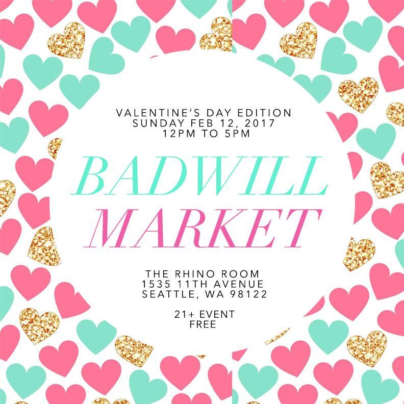 Badwill Market Valentine's Day