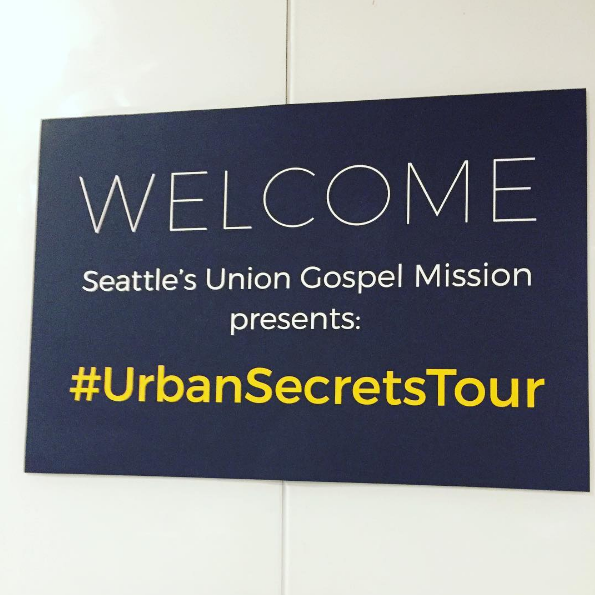 Seattle Union Gospel Mission Urban Secrets Tour