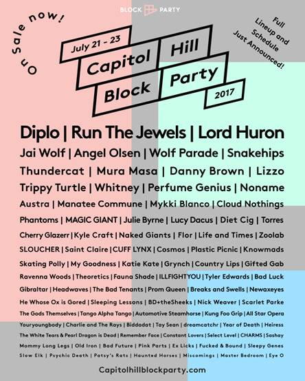 Capitol Hill Block Party 2017