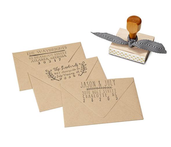Custom Address Stamps