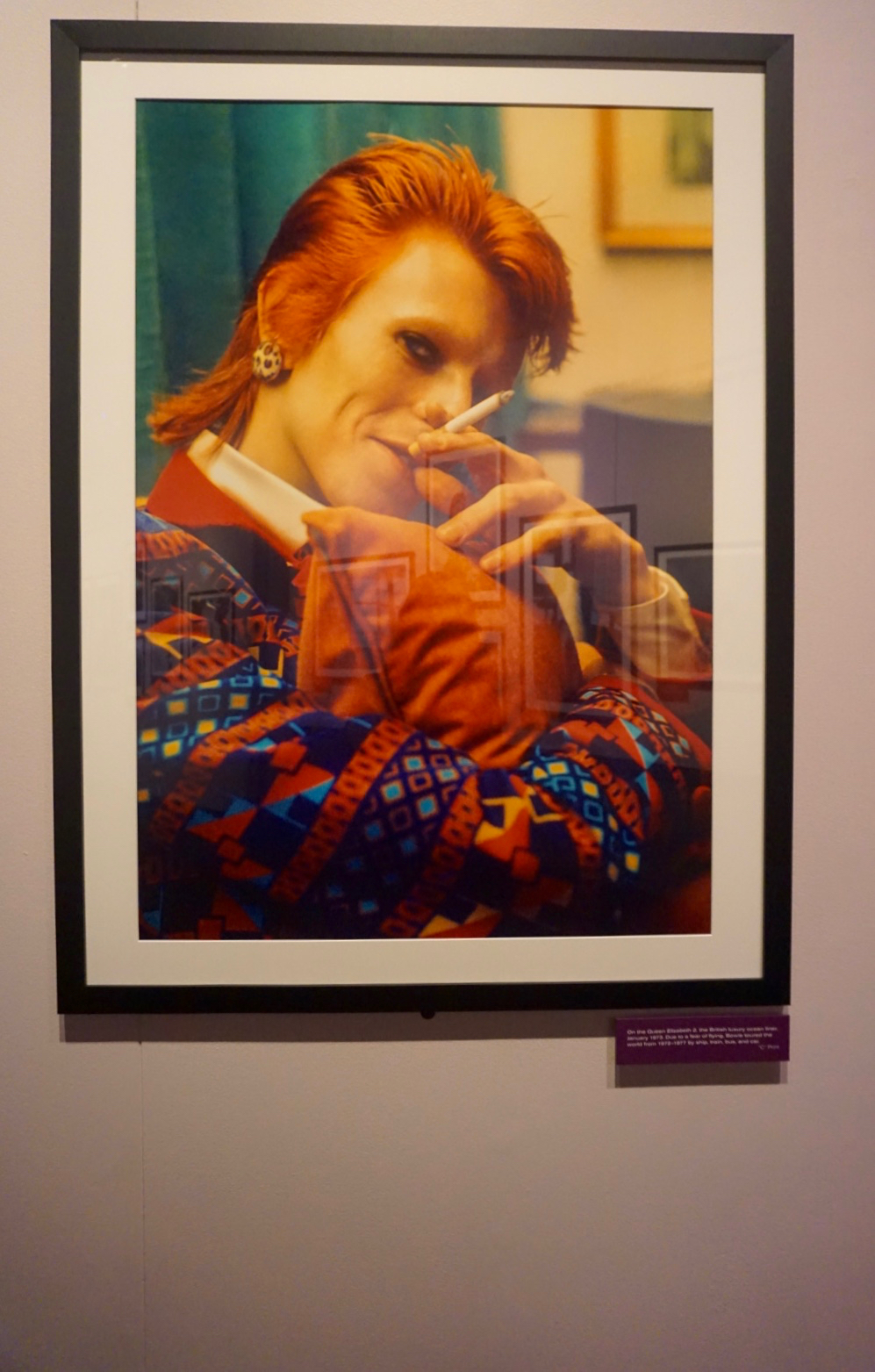 Bowie by Mick Rock at MoPOP Seattle 7.jpg
