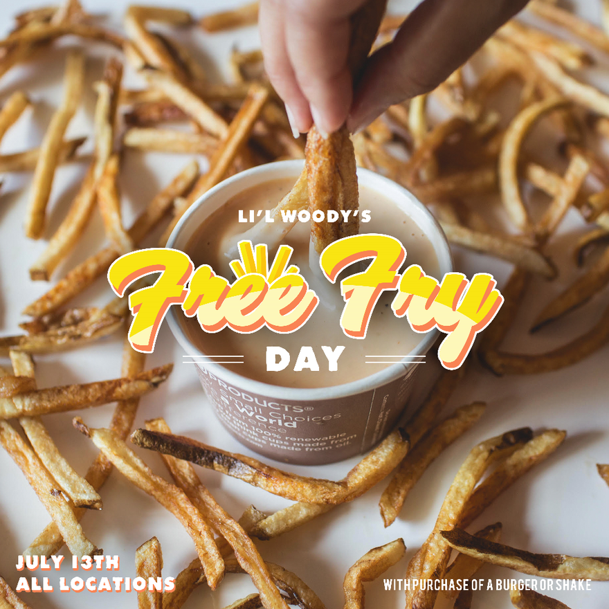 Lil Woodys Free Fry Day 2017