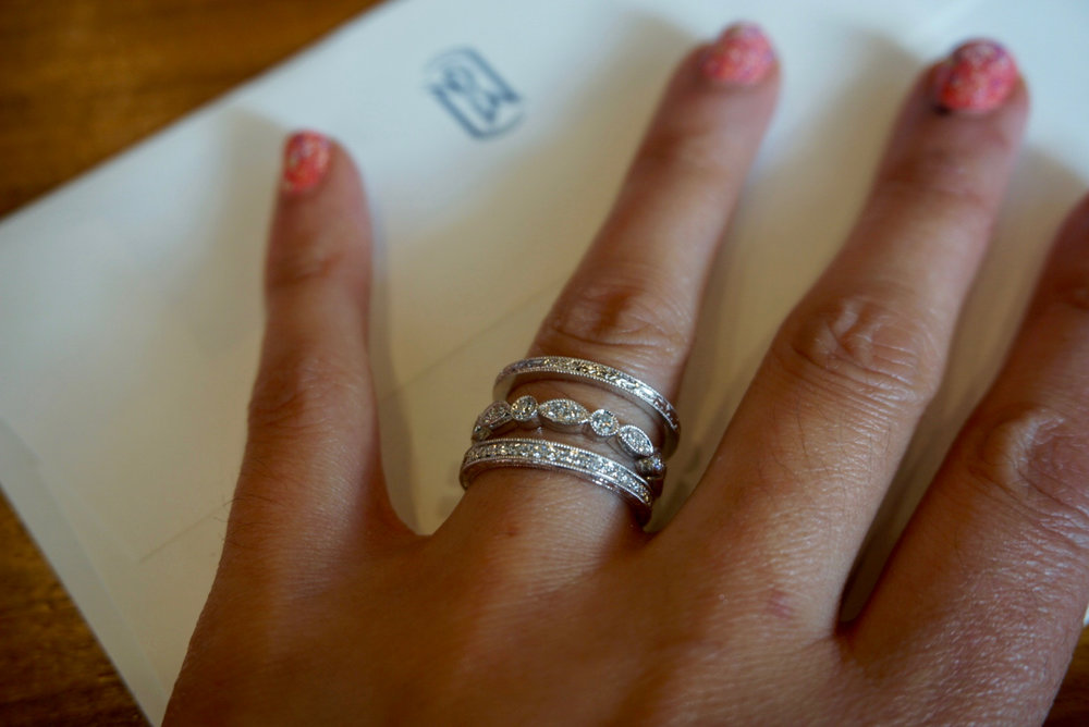 The FreshWed Diaries Choosing our Rings with Blue Nile Fresh Jess